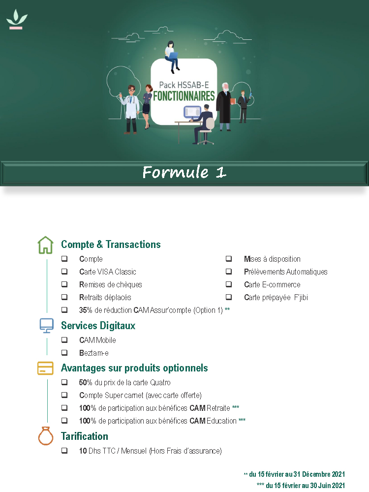 Pack Fonctionnaires Formule 1