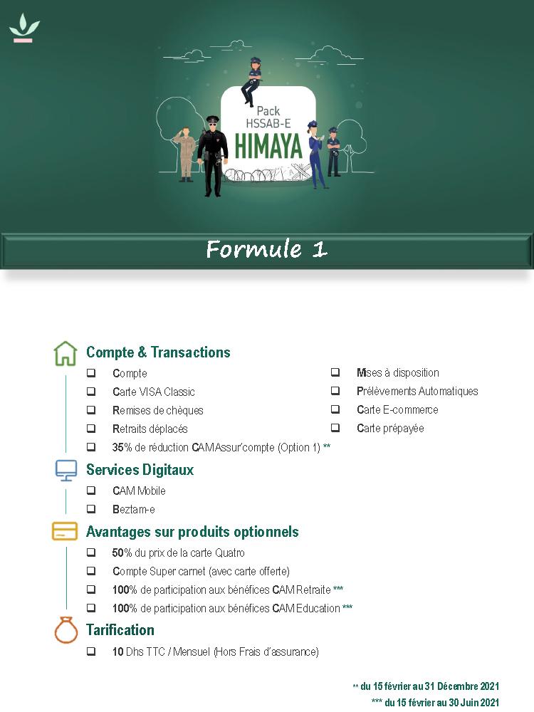 Pack Himaya formule 1